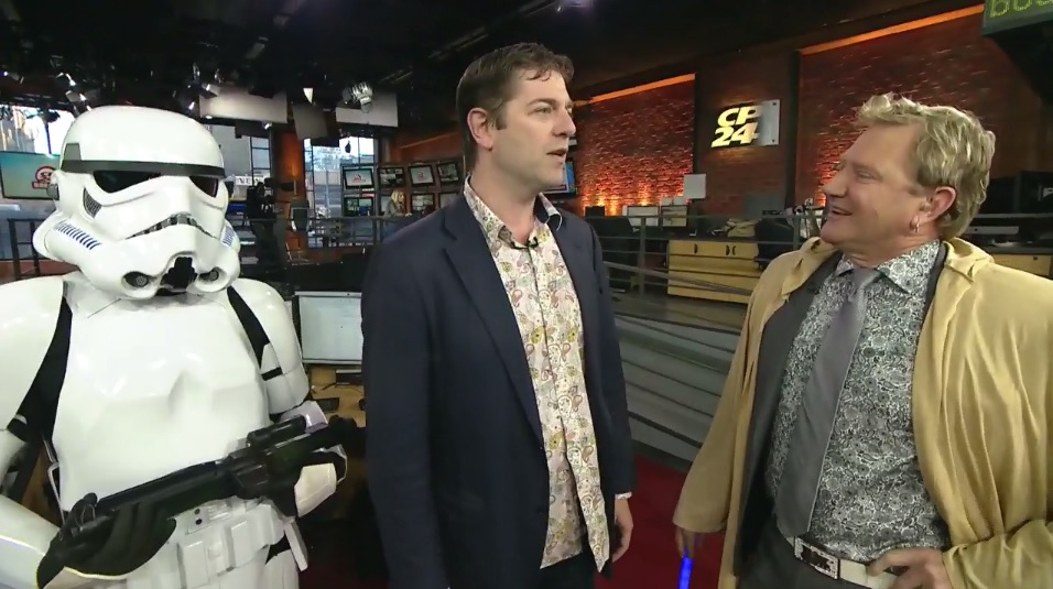 Charles Ross on CP24 Breakfast